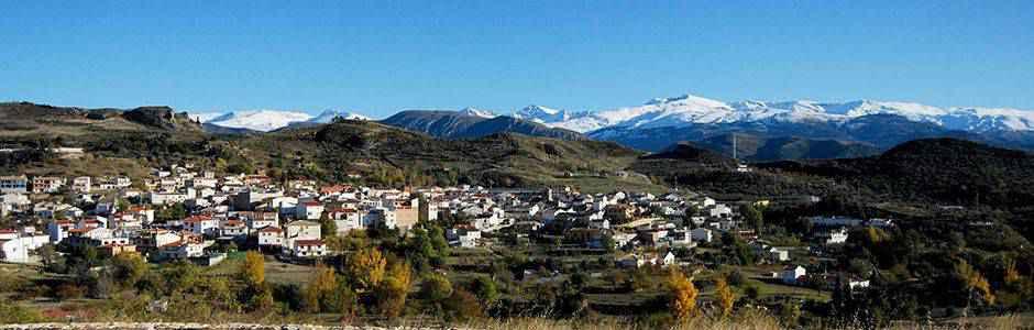Vista de Beas de Granada