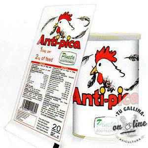 Complemento alimenticio para gallinas: Antipica