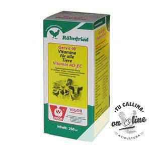 Vitaminas AD3EC para mejorar la fertilidad de los animales