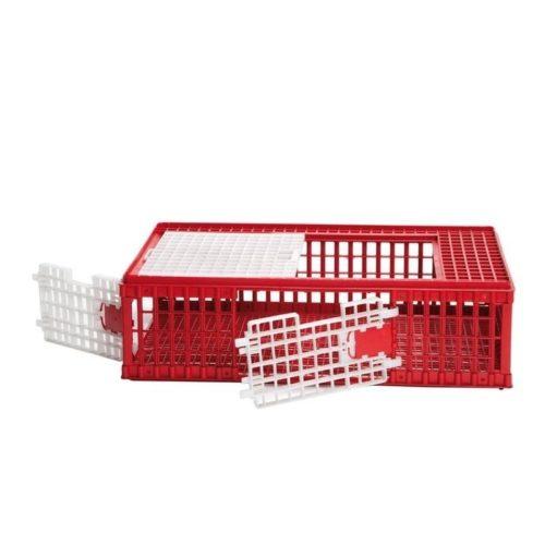 Caja transporte para aves medianas y grandes