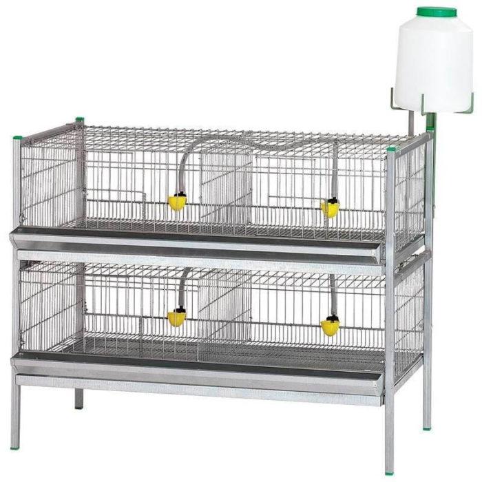 ampliación bateria de exposicion de aves