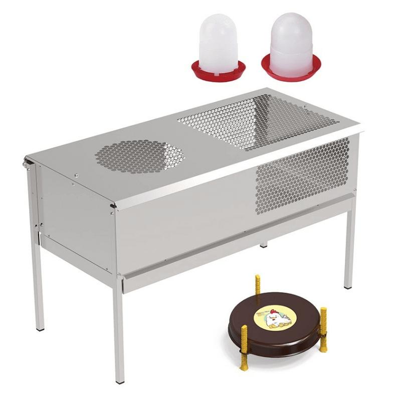 pack creadora de pollitos + calefactor + bebederos